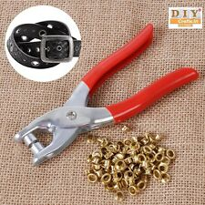DIY Crafts®Rivets Pliers Tool+75pc Eyelets Grommets for Shoes Bags Leather Belth