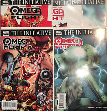 Omaga Flight #1-5 Set Initiative VF+/NM- 1st Print Free UK P&P Marvel Comics