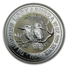 1994 10 oz Silver Australian Kookaburra Coin - Brilliant Uncirculated -SKU#57255
