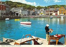 B99898 padstow town and harbour cornwall ship bateaux  uk