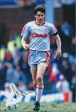 Alan HANSEN SIGNED Autograph Photo AFTAL COA Liverpool Candy Grey Shirt RARE