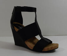 BCBG Women Barlee Wedge Sandal 5.5 M Casual Summer Vacation Party