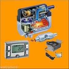 Standheizung Eberspächer D4WSC Diesel + Einbausatz 252385050000 + Uhr EasyStart