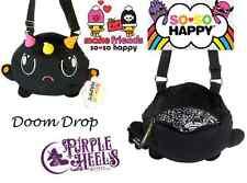 SO So Happy DOOM DROP moodee Nero Peluche Crossbody Bag