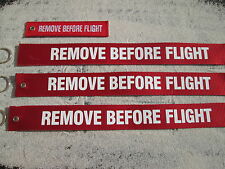 REMOVE BEFORE FLIGHT XXL 3er SET Avion / Aircraft / YAKAiR Flugplatz / Flugzeug