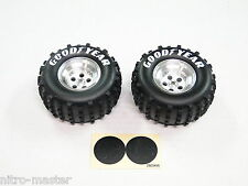 NEW KYOSHO 1/10th TOMAHAWK Wheels & Tires Rear KM25
