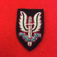 SAS Beret Badge Bullion Wire Special Air Service Badge