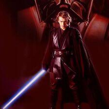 Star Wars Light Up Laser Lightsaber adjustable Blue Lightsaber Sword kid toy Hot