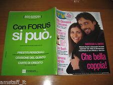 TV SORRISI E CANZONI=2004/5=VITTORIA PUCCINI=ALESSANDRO PREZIOSI=GIANNA NANNINI
