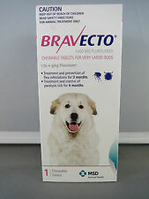 Bravecto for Extra Large Dogs 40 - 56kg  Single Chew