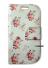 Vintage Floral Wallet Flip Stand Case Cover For Galaxy Iphones Xperia Lumia