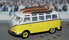 LIMITED VW VOLKSWAGEN 21 WINDOW SAMBA bus van DIORAMA 1/64 SCALE Dcp GREENLIGHT