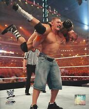 JOHN CENA vs BATISTA 8X10 PHOTO WRESTLING PICTURE WWF