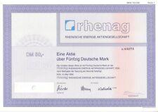 Rhenag Rheinische Energie AG 50DM Köln 1994