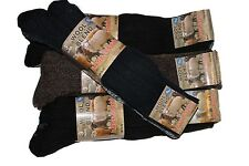 3  mens Chunky wool boot socks LONG Thermal ,warmth and comfort