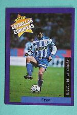 PANINI ESTRELLAS EUROPEAS 1996  N. 54 DEPORTIVO DE LA CORUNA FRAN MINT!!!