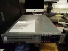 HP PROLIANT DL380 G5 SERVER 4 146GB 10K SAS DUAL POWER SUPPLIES CD/DVD RW 4GB RM