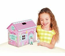 Chad Valley Wood Shed Carry Dolls House-Nuovo in Scatola