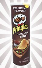 Jamaican Jerk Seasoning Spice Pringles Potato Crisps Chips LIMITED EDITION 5.5OZ