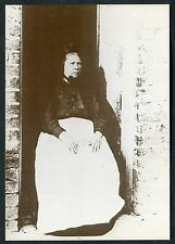 C1990's Reproduction of a 1900 Image of a Old Lady, Wigan