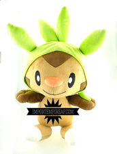 POKEMON CHESPIN 40 CM PELUCHE ENORME pupazzo big nero x y plush doll grande big