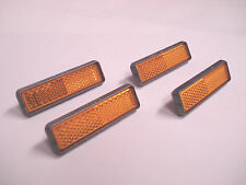 VINTAGE NOS SR SAKAE BICYCLE PEDAL REFLECTOR SET SCHWINN BMX FIXIE ROAD