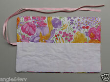 Crochet Hook Holder Case Holds 13 Hooks Multi-Color Floral Print NEW A58