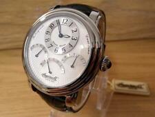 Mens S/Steel Deco Style Ingersoll Hombre Retrograde Dual Display Automatic Watch