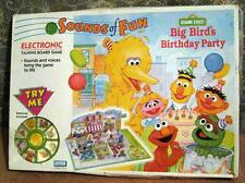 Sesame Street Big Bird's Birthday Party Game Electronic 1992 Parker Brothers  3D