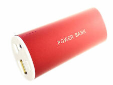 POWER BANK 6800mAh PER SAMSUNG S5/S4/S3 IPHONE LG BATTERIA ESTERNA + LUCE TORCIA