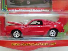 JOHNNY LIGHTNING - THOSE 70S CARS - 1977 FORD MUSTANG II / COBRA II - DIECAST