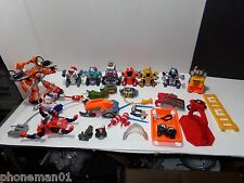 Lot of 33  Mattel Rescue Heroes Action Figures Fisher Price Assorted Accessories