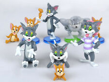 New Hot Tom and Jerry figures Cat Mouse Dog Animals Toy 9pcs #K