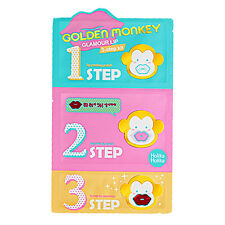 [HOLIKA HOLIKA] Golden Monkey Glamour Lip 3-step Kit 1pcs / for dry lips