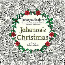 Johanna's Christmas: A Festive Coloring Book for Adults - I send worldwide - NEW