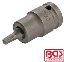 """BGS Tools 1/2"""" Impact Bit-Socket T Star Torx T30 5371"""