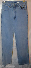 Ladies Teens Size 8 L Long Harley Davidson Motorcycle Medium Blue Jeans
