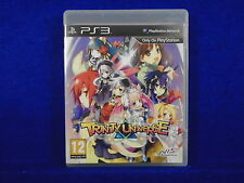 ps3 TRINITY UNIVERSE An Action RPG Adventure Playstation PAL