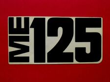 NOS Indian ME-125 Decal dirt bike motorcycle ME125