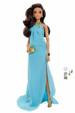 DVP56 The Barbie Look Barbie Doll - Pool Chic Model Muse Articulated Latina MINT