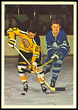 1963-64 TORONTO STARS IN ACTION JEAN GUY GENDRON BOSTON BRUINS HOCKEY PHOTO CARD