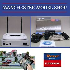 DCC Control Roco Fleischmann z21 Digital Central, WLAN Router Smartphone Tablet
