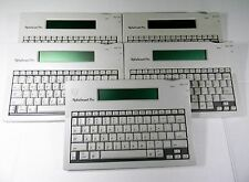(5) AlphaSmart PRO word processors  ALF-CO1 EXTRA NICE  **TESTED** Free Shipping