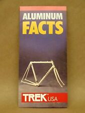 Trek Bicycle Frame Aluminum Brochure Road Mountian Bike 1000 8000XT 1500 1200