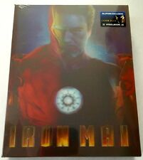 Iron Man Blu-ray Steelbook Blufans Exclusive Lenticular Cover. Lots Of Photos