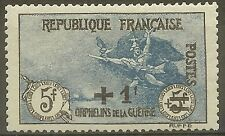 """FRANCE STAMP TIMBRE N°169a """" ORPHELINS LA MARSEILLAISE NOIR ET BLEU """" NEUFxx TTB"""