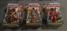 Masters of the Universe Classics Battle Armor He-Man, King Randor&Chief Carnivus