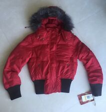 NWT True Religion Parka Jacket in Red size S $398