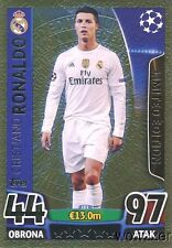 2016 Topps Match Attax Champions League EXCLUSIVE Cristiano Ronaldo LE GOLD!!