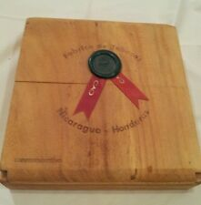 Fabrica de Tabacos, Wood Cigar Box